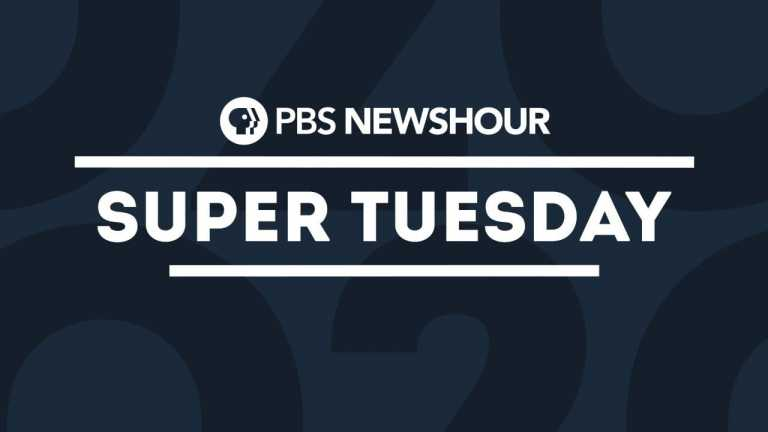 WATCH LIVE: PBS NewsHour's Super Tuesday special coverage