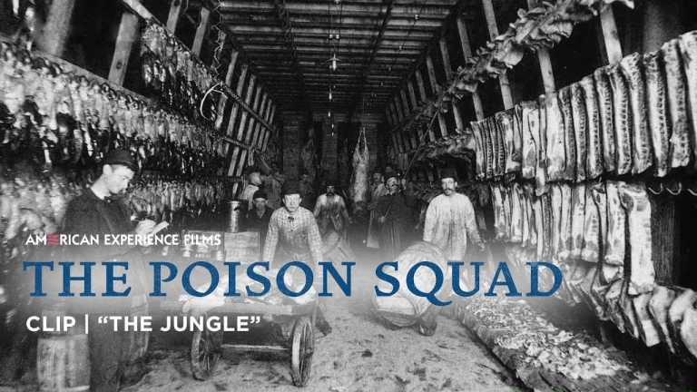 """How """"The Jungle"""" Changed American Food   The Poison Squad   American Experience   PBS"""