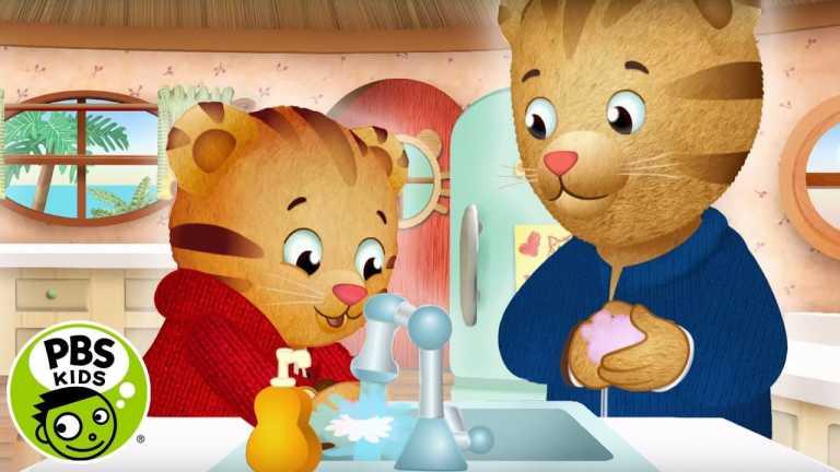 Germs Germs Go Away   Daniel Tiger's Neighborhood   PBS KIDS
