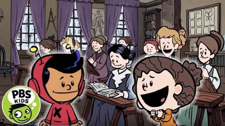 Xavier Riddle and the Secret Museum   A Secret School for Girls!   PBS KIDS