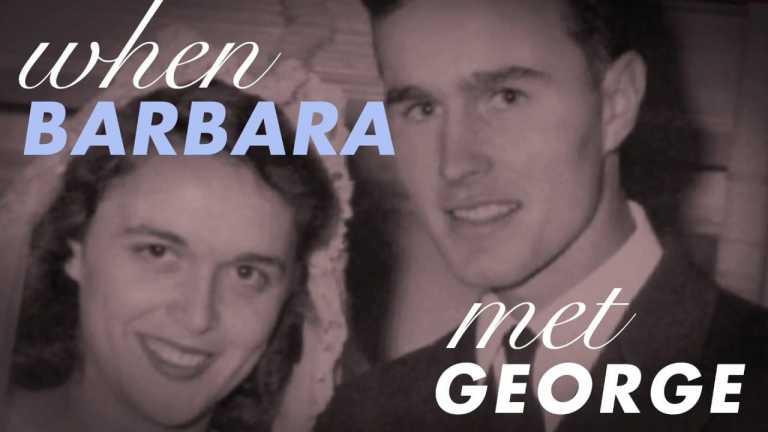 When Barbara Met George   George H.W. Bush