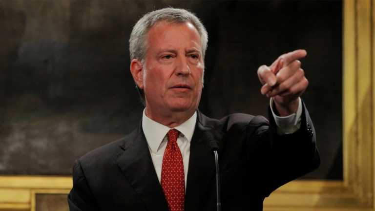 WATCH LIVE: New York Mayor Bill de Blasio gives coronavirus update — March 31, 2020