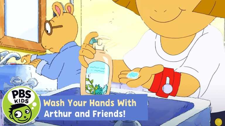 Wash Your Hands with Arthur! | Arthur | PBS KIDS