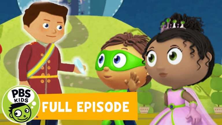 Super Why! FULL EPISODES   Cinderella: The Prince's Side of the Story   PBS KIDS