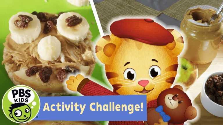 Activity Challenge! | Daniel Tiger's Snack Faces Challenge! | PBS KIDS