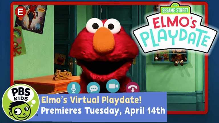 Sesame Street | Elmo's Playdate! Premieres Tuesday, April 14th | PBS KIDS