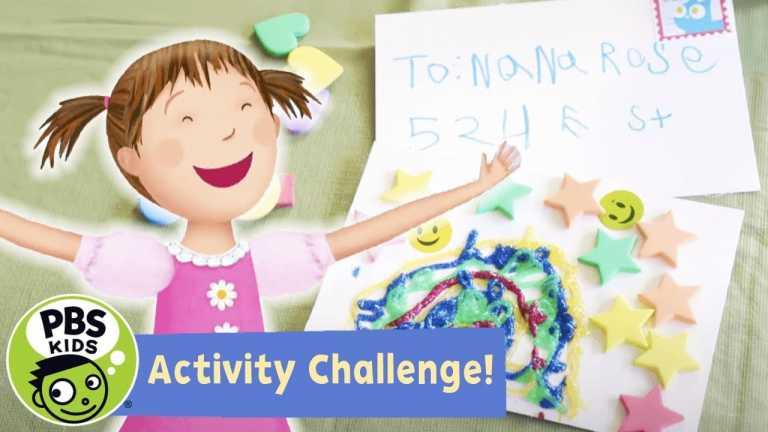 Activity Challenge!   💌 Pinkalicious Postcard Challenge!   PBS KIDS