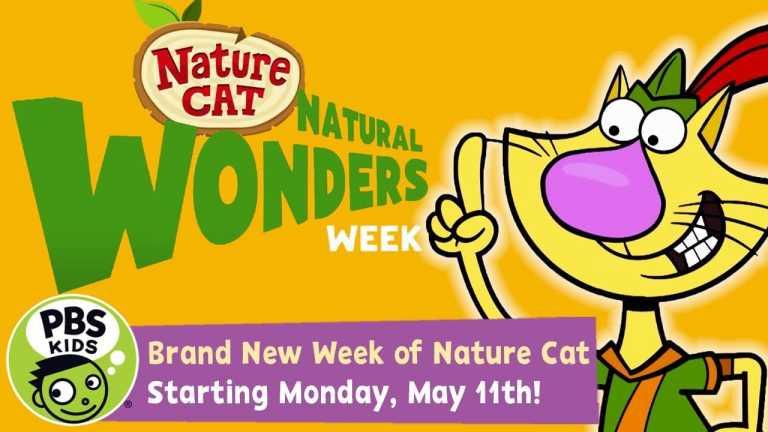 Nature Cat | Celebrate Natural Wonders Week! | PBS KIDS