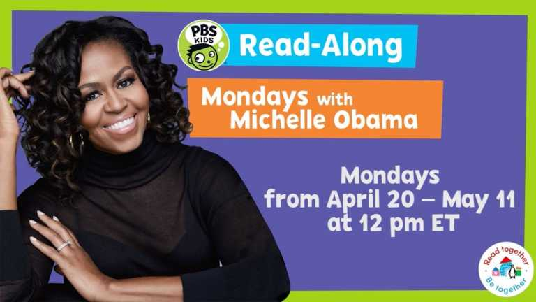 Mondays with Michelle Obama | Read-Along | PBS KIDS