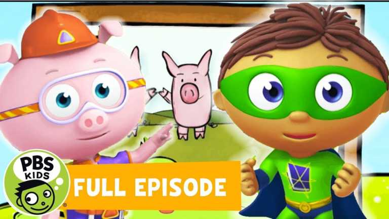 Super Why FULL EPISODE   The Three Little Pigs   PBS KIDS