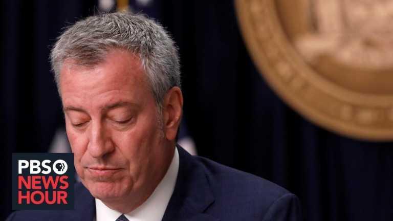 WATCH LIVE: New York Mayor Bill de Blasio gives coronavirus update — May 27, 2020