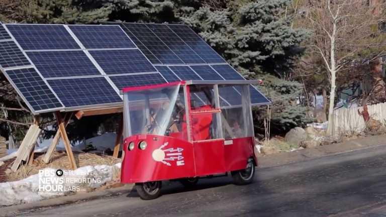 Racing towards solar powered cars