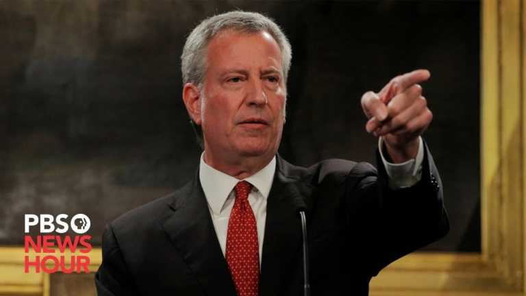WATCH LIVE: New York City Mayor Bill de Blasio gives coronavirus update — May 7, 2020