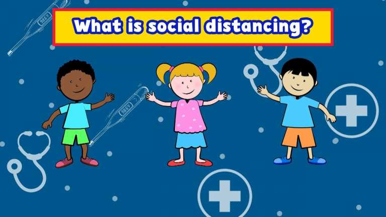 Explaining Social Distancing to Children | Meet the Helpers