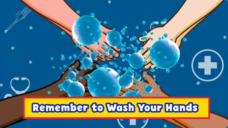 Remember to Wash Your Hands | Meet the Helpers