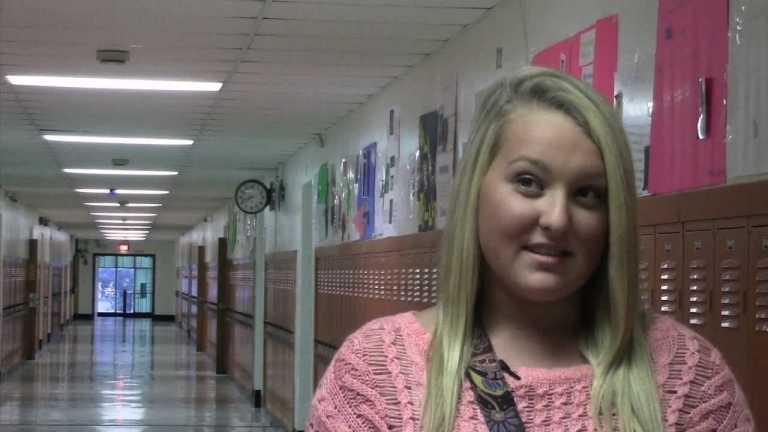 Mackenzie Holdren, Richwood High School