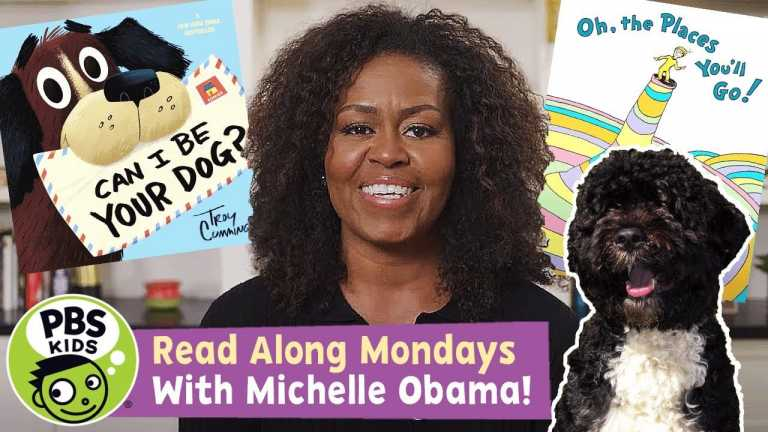 READ ALONG with MICHELLE OBAMA!   Oh, the Places You'll Go! / Can I Be Your Dog?   PBS KIDS