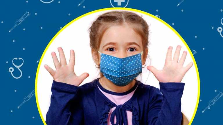 Wearing a Mask Helps Stop the Spread of Germs