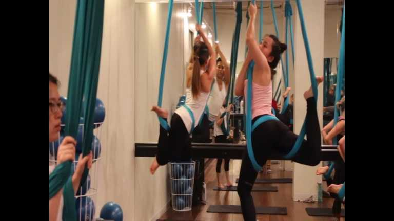 AIR gets fitness routines off the ground