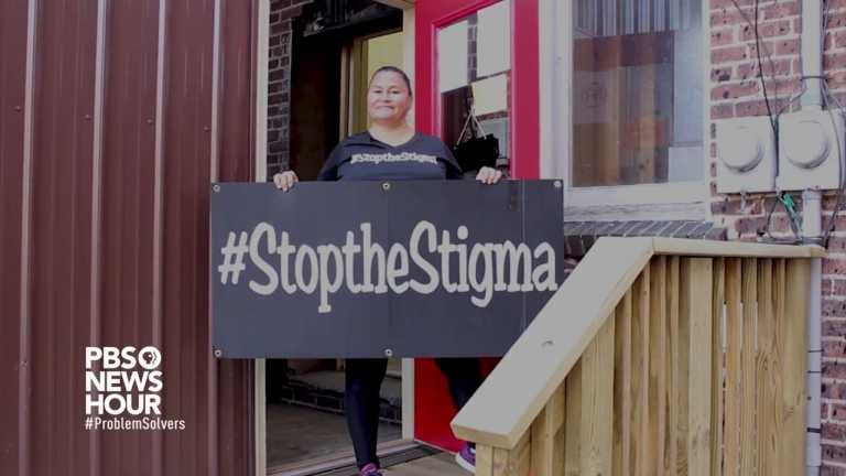 Recovered drug addict creates organization to help others recover