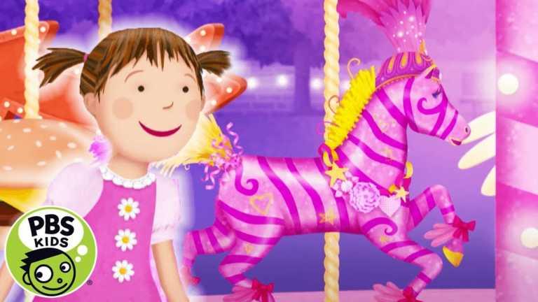 Pinkalicious & Peterrific | The Zebra Merry Go Round! | PBS KIDS
