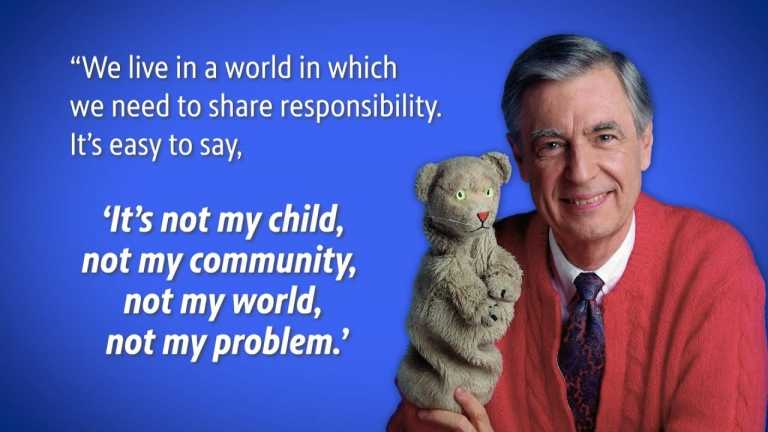 "Mister Rogers Believed in ""Shared Responsibility"""