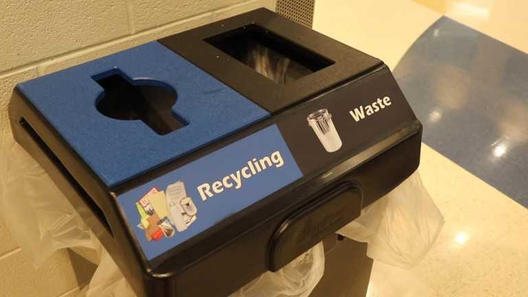At Arlington County's largest high school, waste runs on a rampage