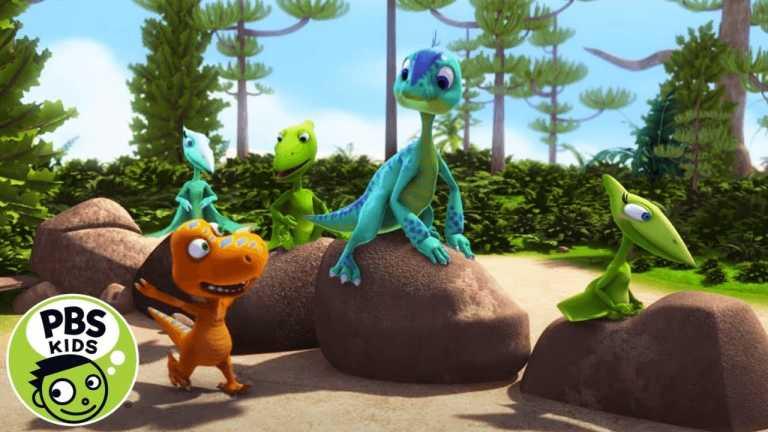 Dinosaur Train | Playing on the Pretend Dinosaur Train! | PBS KIDS