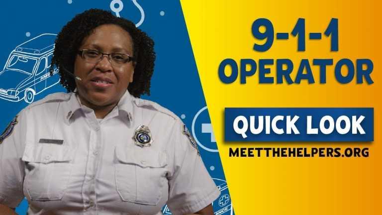 Meet the Helpers: 9-1-1 Operator