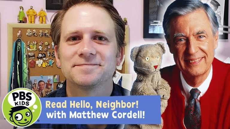 Hello, Neighbor! The Kind and Caring World of Mister Rogers   READ ALONG!   PBS KIDS