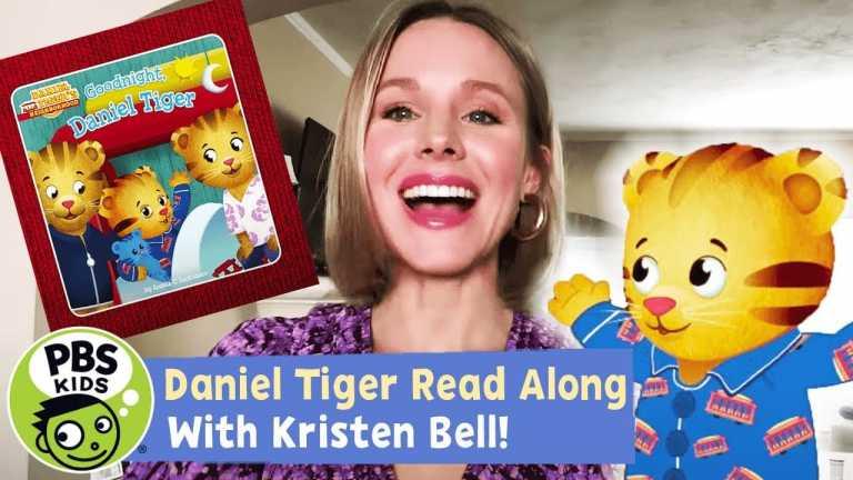 READ ALONG with KRISTEN BELL! | Goodnight, Daniel Tiger | PBS KIDS