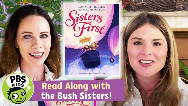 """READ ALONG with the BUSH SISTERS! 