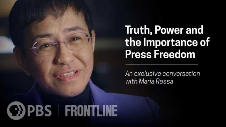 Truth, Power and the Importance of Press Freedom: An exclusive conversation with Maria Ressa