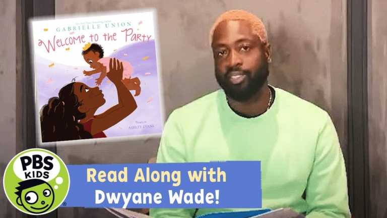 READ ALONG with DWYANE WADE! | Welcome to the Party | PBS KIDS