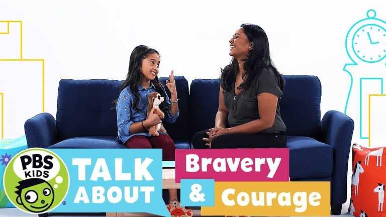 PBS KIDS Talk About | BRAVERY & COURAGE | PBS KIDS
