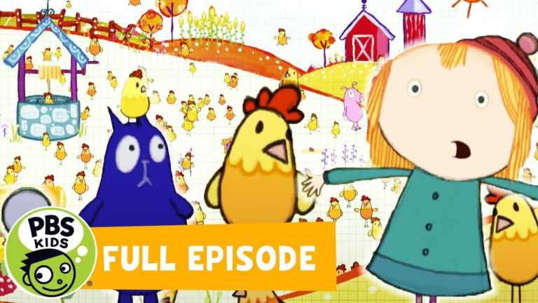 Peg + Cat FULL EPISODE | The Chicken Problem / The Space Creature Problem | PBS KIDS