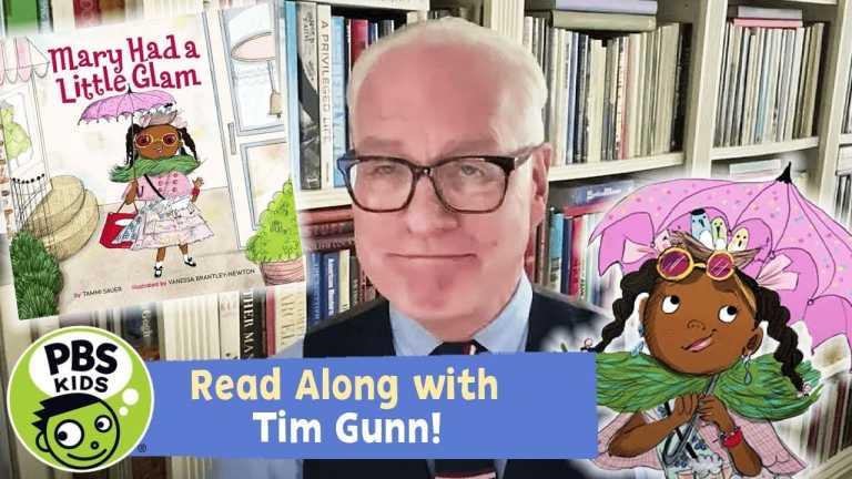 READ ALONG with TIM GUNN! | Mary Had a Little Glam | PBS KIDS