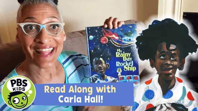 READ ALONG with CARLA HALL! | My Rainy Day Rocket Ship | PBS KIDS