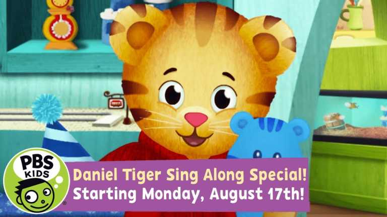 Daniel Tiger's Neighborhood Sing Along Special! | Won't You Sing Along with Me? | PBS KIDS