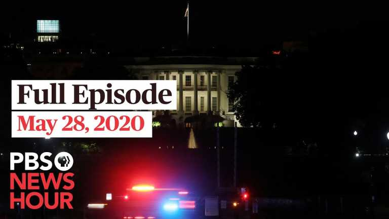 PBS NewHour full episode, May 28, 2020