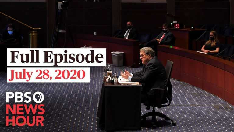 PBS NewsHour full episode, July 28, 2020