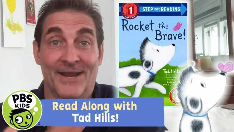 Rocket the Brave! | READ ALONG with TAD HILLS! | PBS KIDS