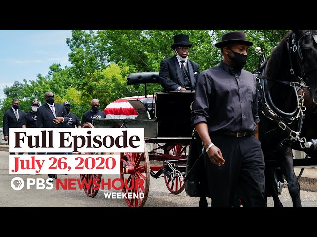 PBS NewsHour Weekend Full Episode July 26, 2020