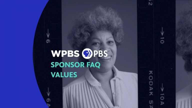 Sponsor FAQ PBS Values
