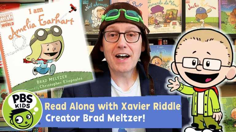I am Amelia Earhart | Xavier Riddle READ ALONG! | PBS KIDS