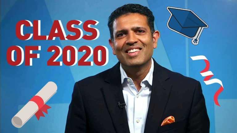 Hari Sreenivasan's Message to the Class of 2020