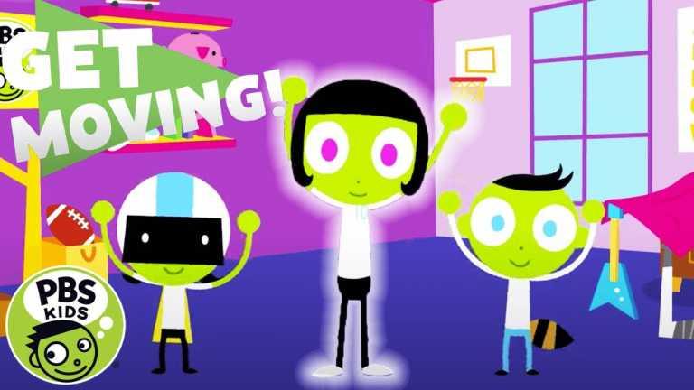 PBS KIDS: Get Moving!   Simon Says