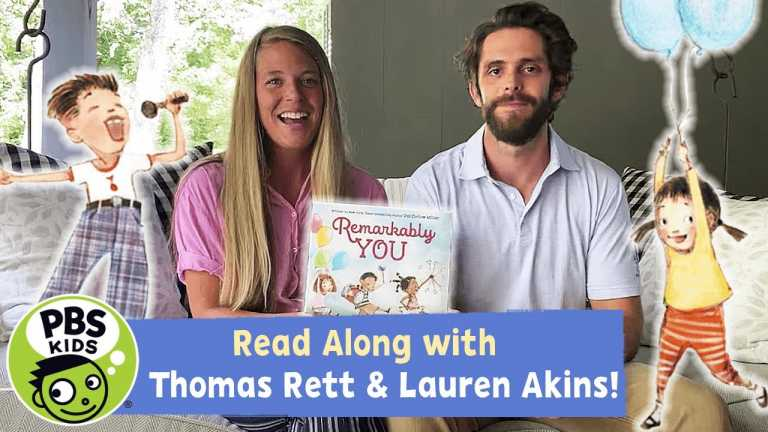 READ ALONG with THOMAS RETT & LAUREN AKINS | Remarkably You | PBS KIDS