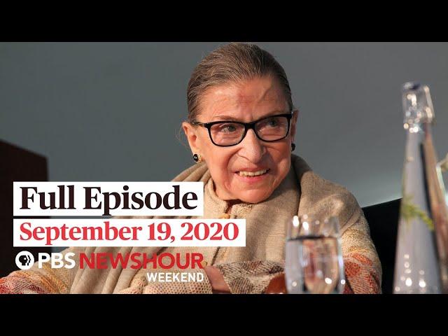 PBS NewsHour Weekend Full Episode September 19, 2020