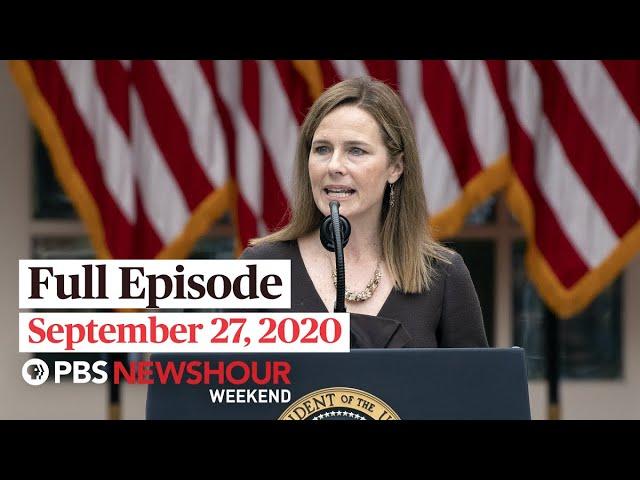 PBS NewsHour Weekend Full Episode, September 27, 2020